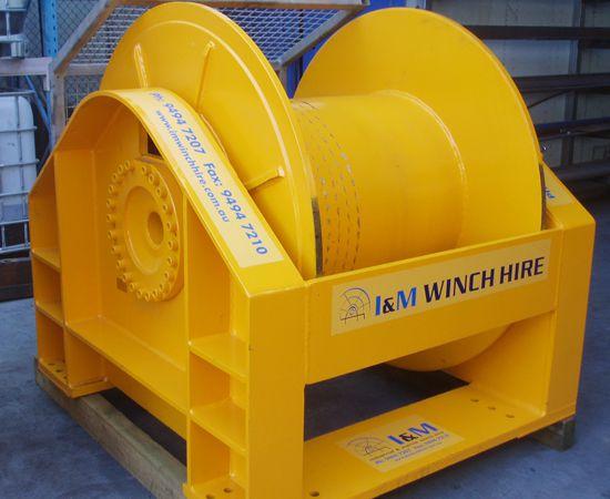 30 Tonne Hydraulic Winch IM-30T-001