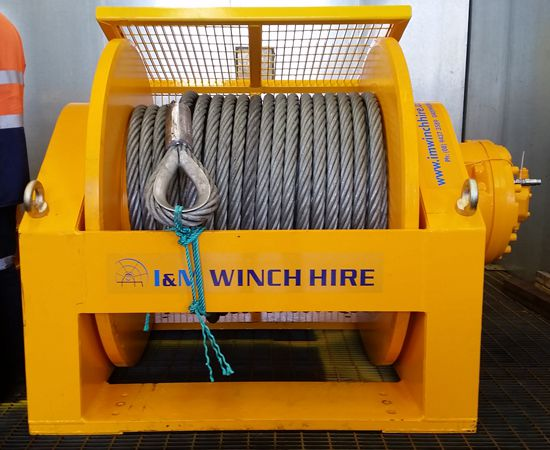 55 Tonne Hydraulic Winch IM-55T-001
