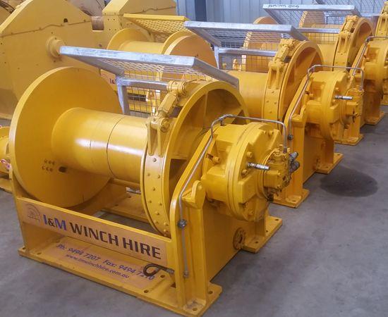 10 Tonne Mooring Winch IM-10TM-00X