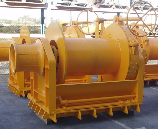 20 Tonne Mooring Winch IM-20TM-001