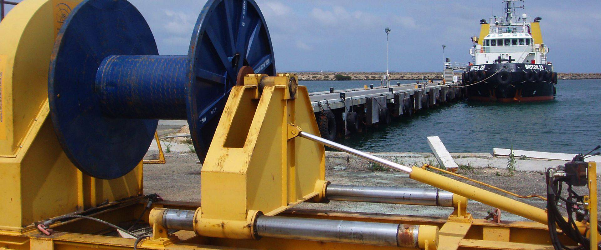 Heavy Duty Spoolers - Industrial and Marine Winch