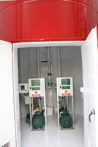 impianto per sistema antincendio