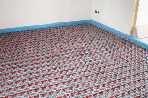 installazione a pavimento