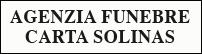 logo agenzia funebre Carta Solinas
