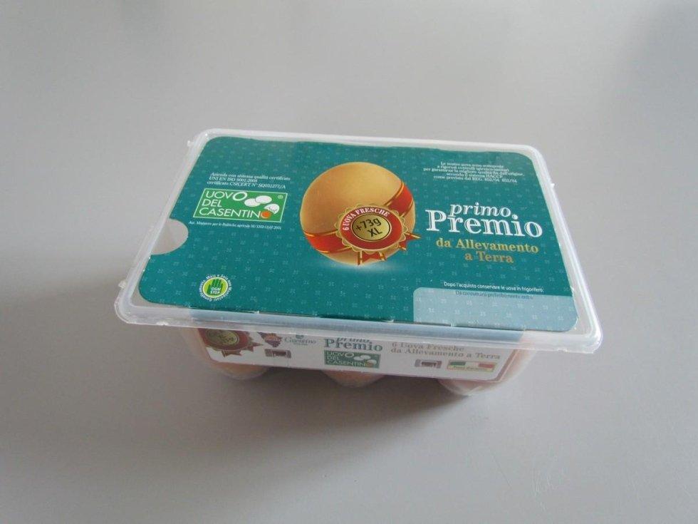 uova XL da allevamento a terra del Casentino