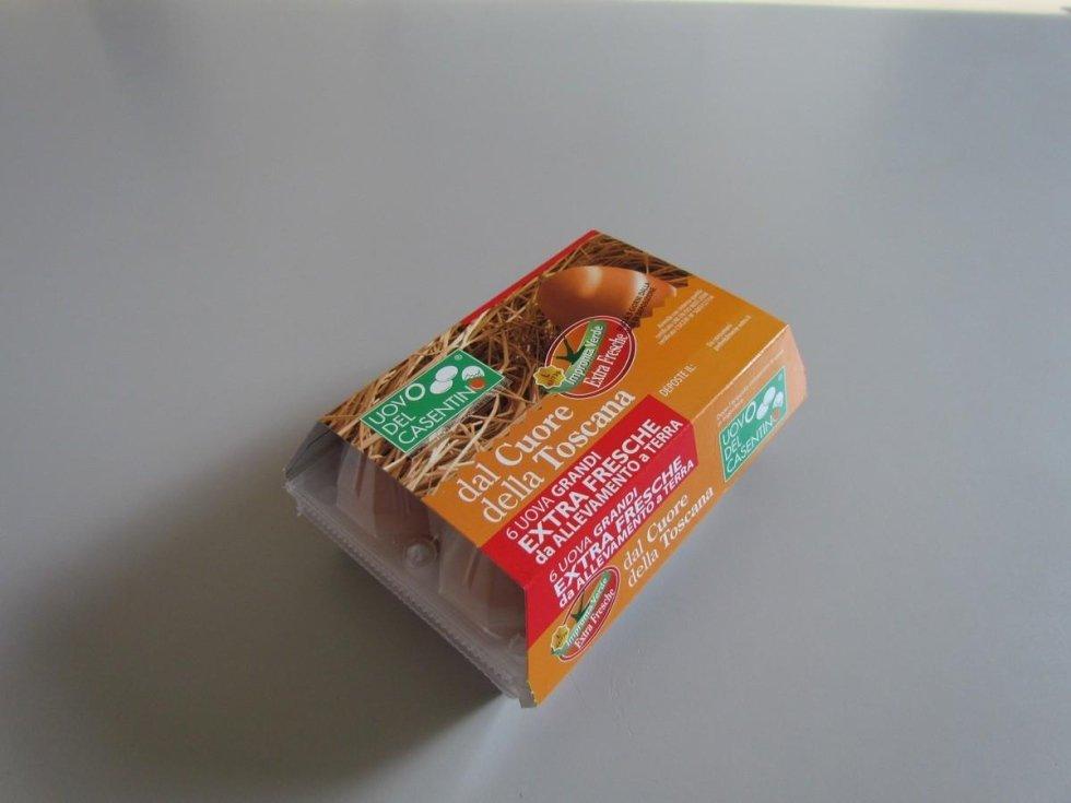 uova da galline allevata a terra in Casentino