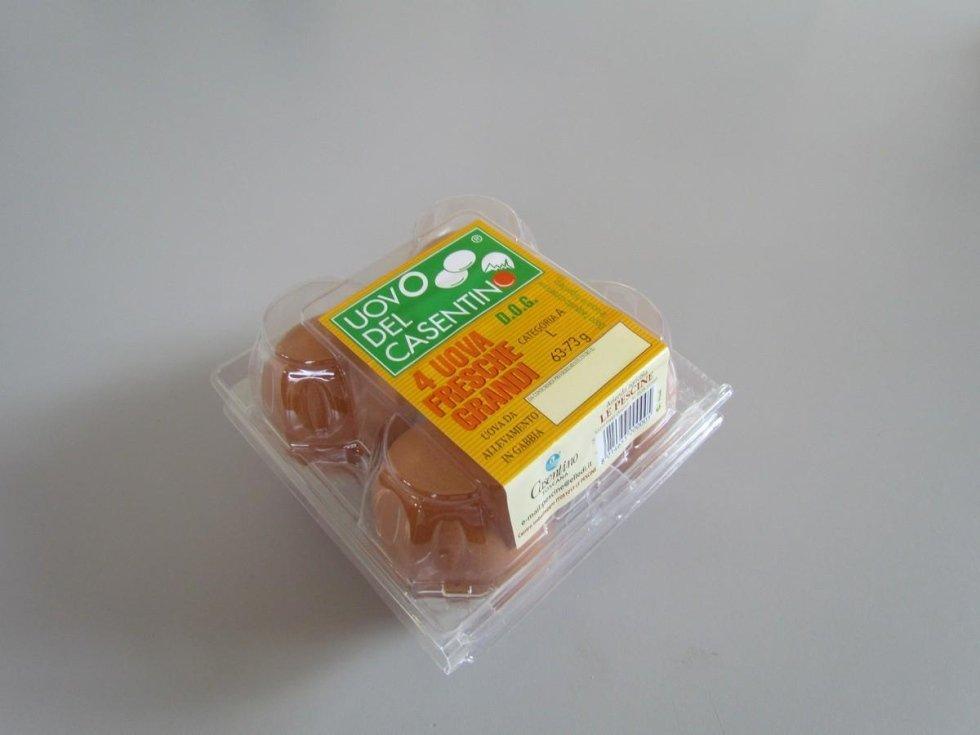 uova allevate in gabbia del Casentino
