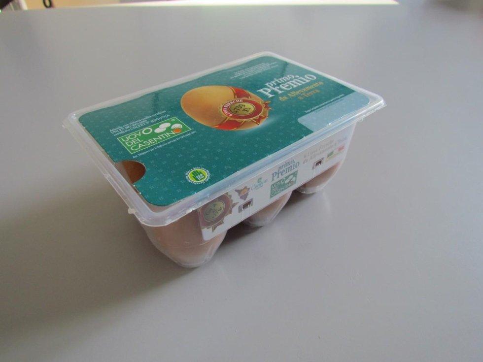 uova XL da allevamento a terra