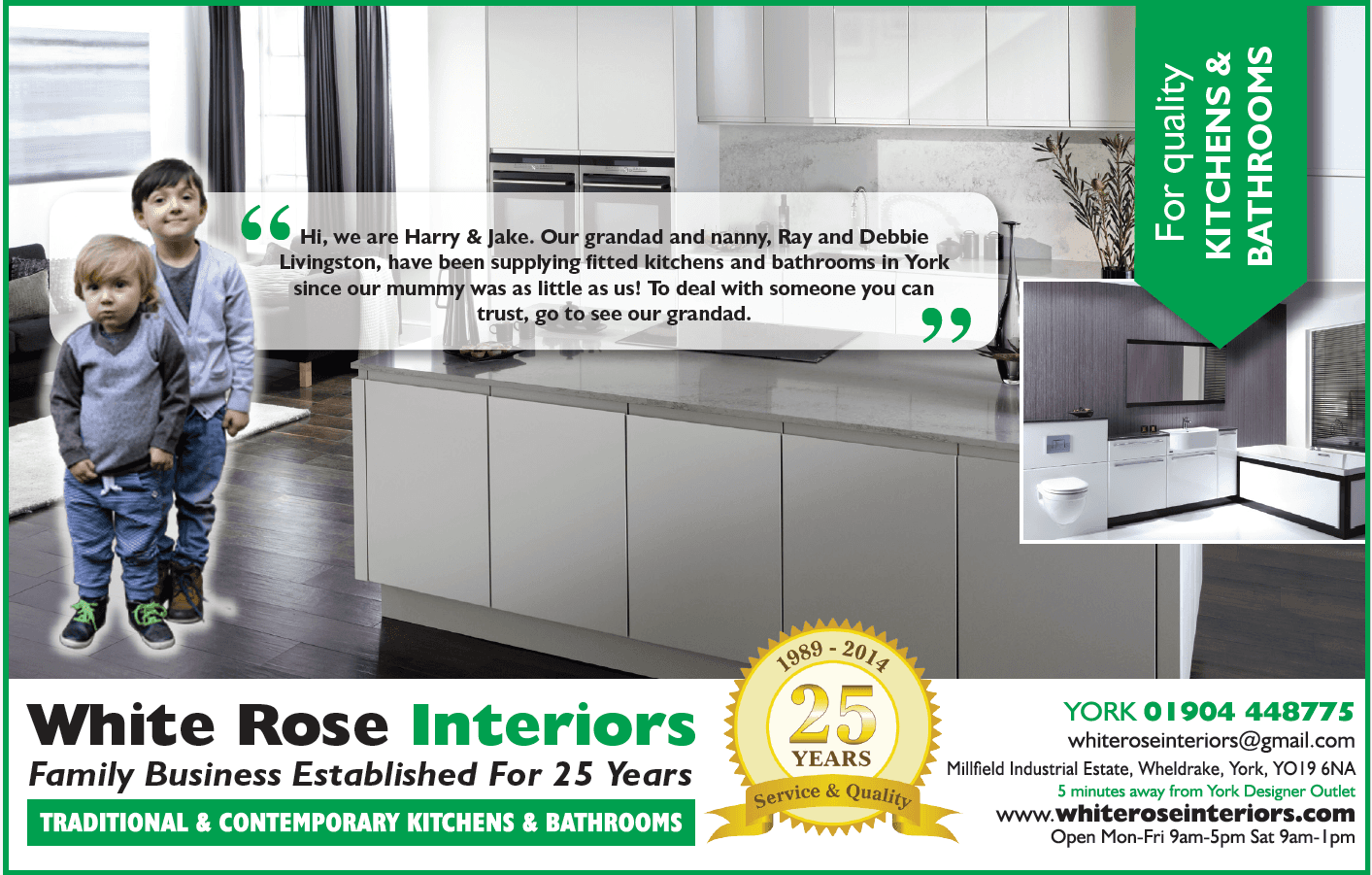 White Rose Interiors brochure