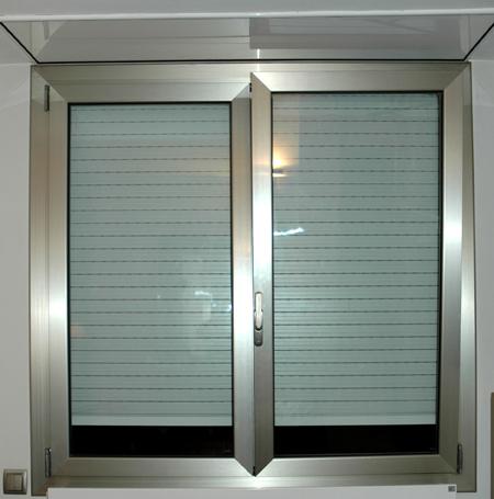 Ventanas de aluminio con persianas motor magntico ventana de aluminio persianas with ventanas - Ventana con persiana integrada ...