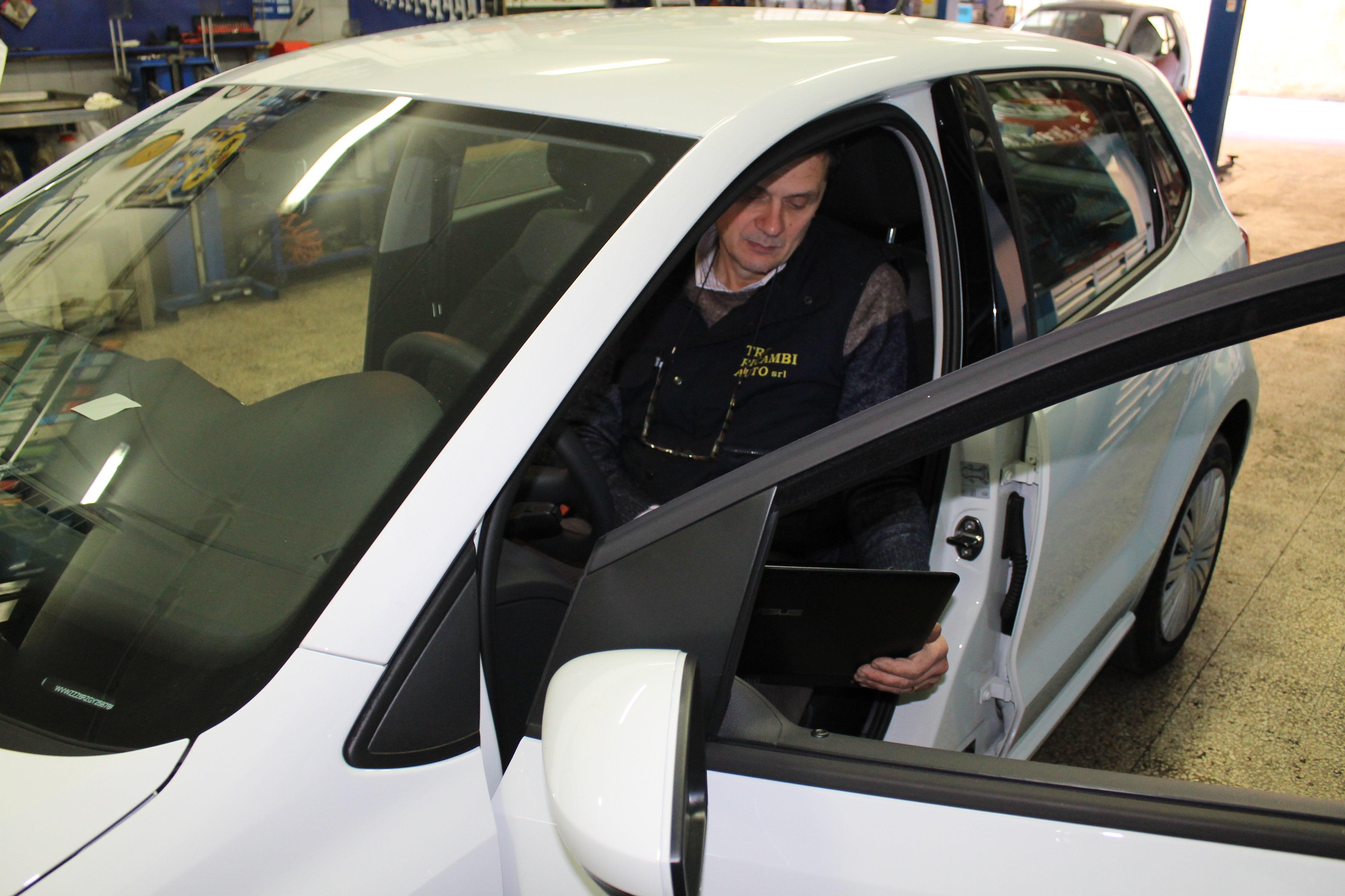 test elettronico auto