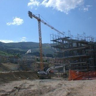 costruzione palazzine