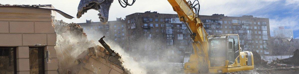 ascot demolition excavator demolition