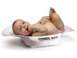 Controllo periodico gratuito del peso dei neonati