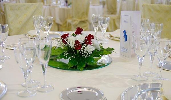 tavoli eleganti matrimonio