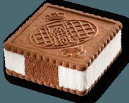 gelati al biscotto, gelati di marca, distributori gelati
