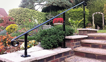 wall top railings
