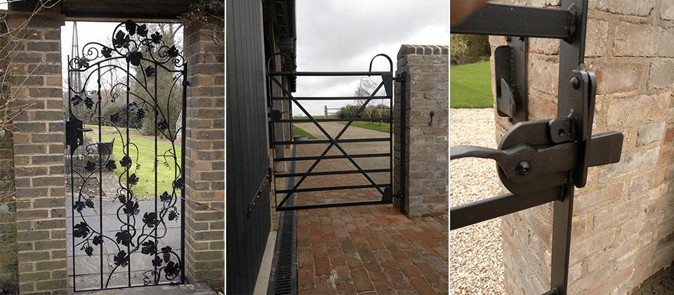designed side gates