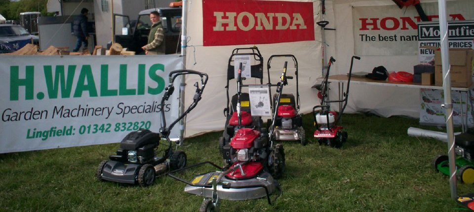 Garden machinery and lawn mower sales