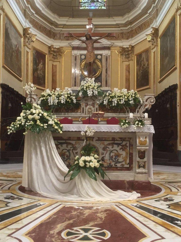 allestimenti floreali chiesa