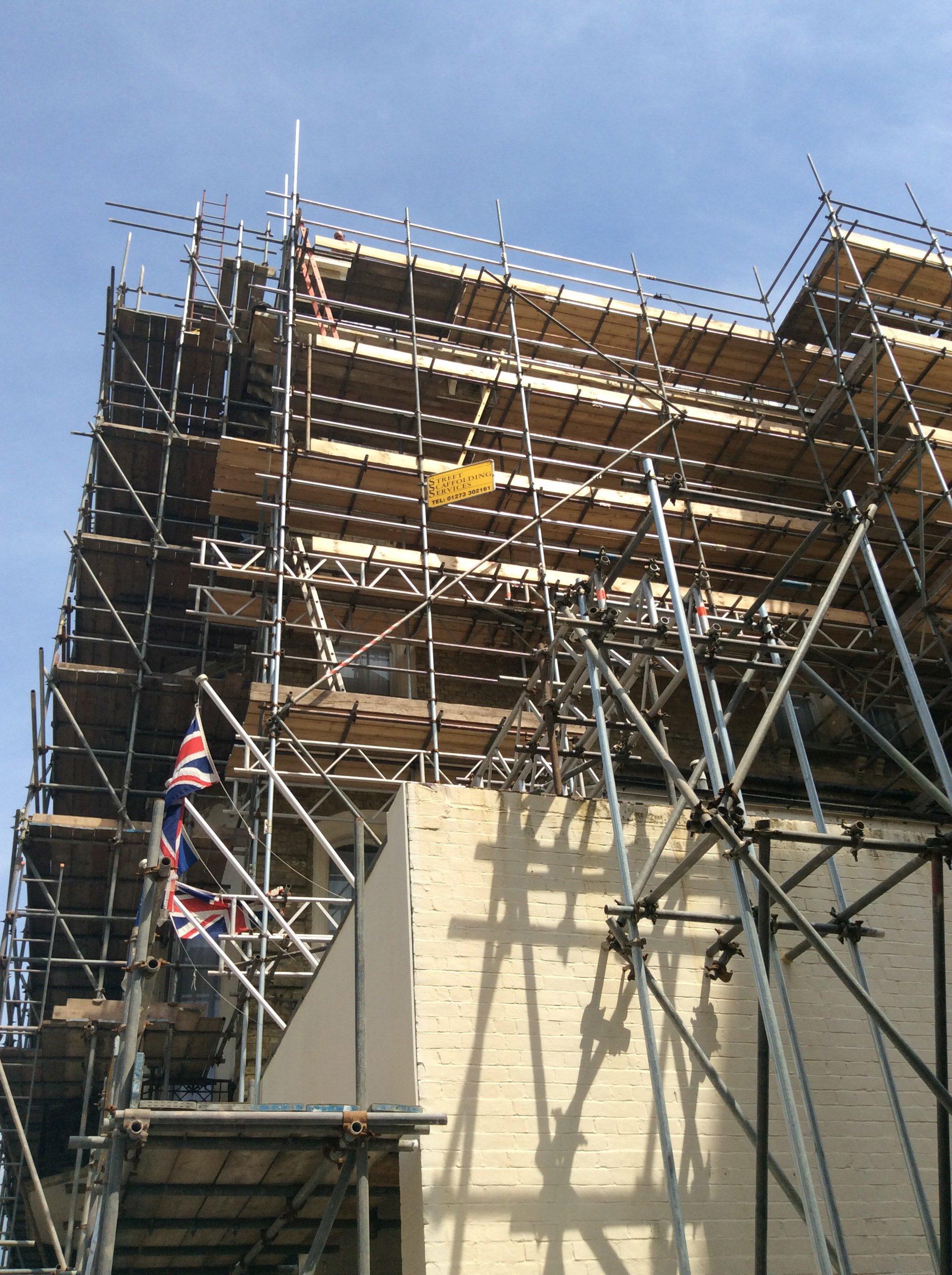 scaffolding in Brighton
