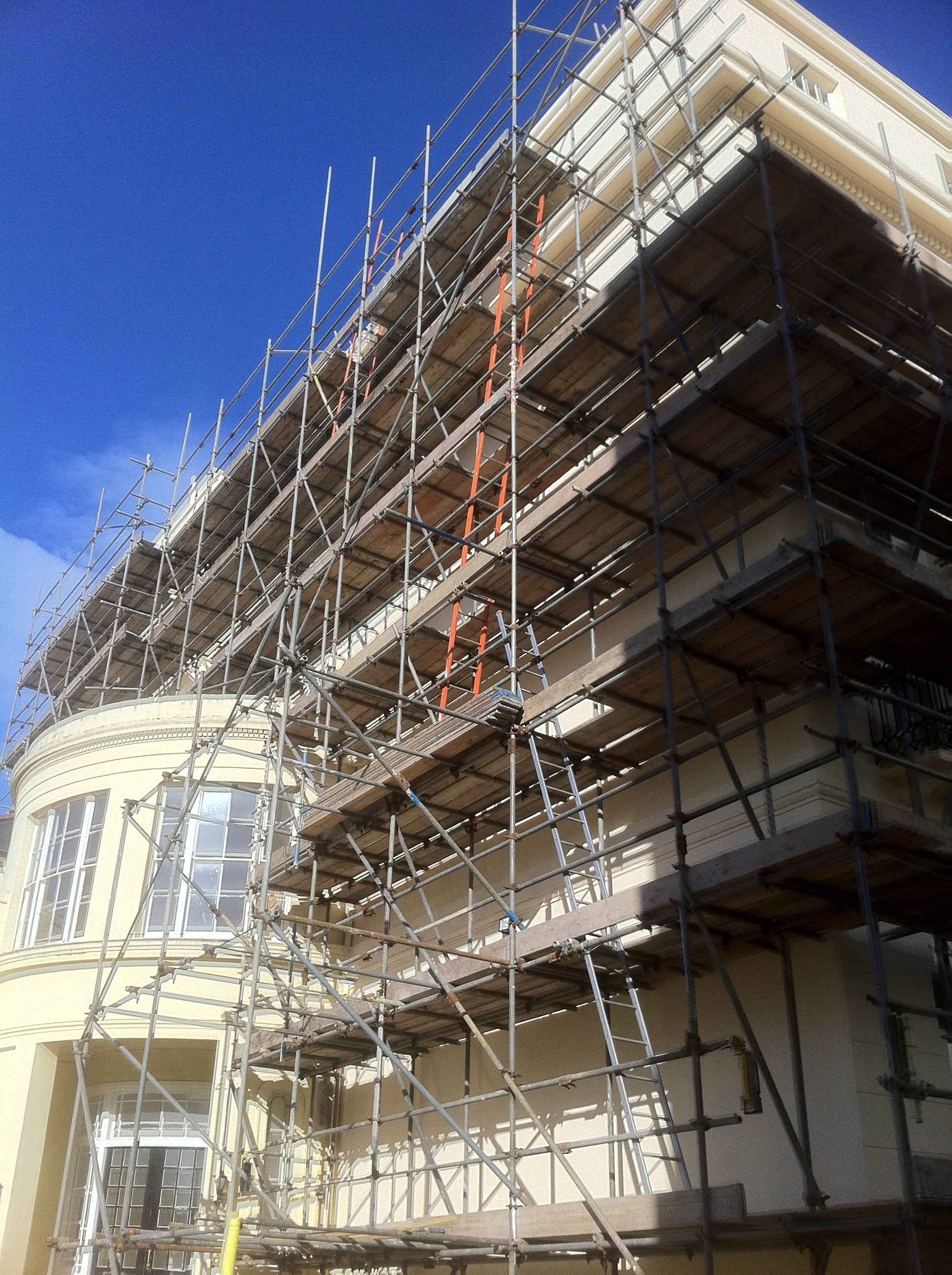 domestic scaffold materials