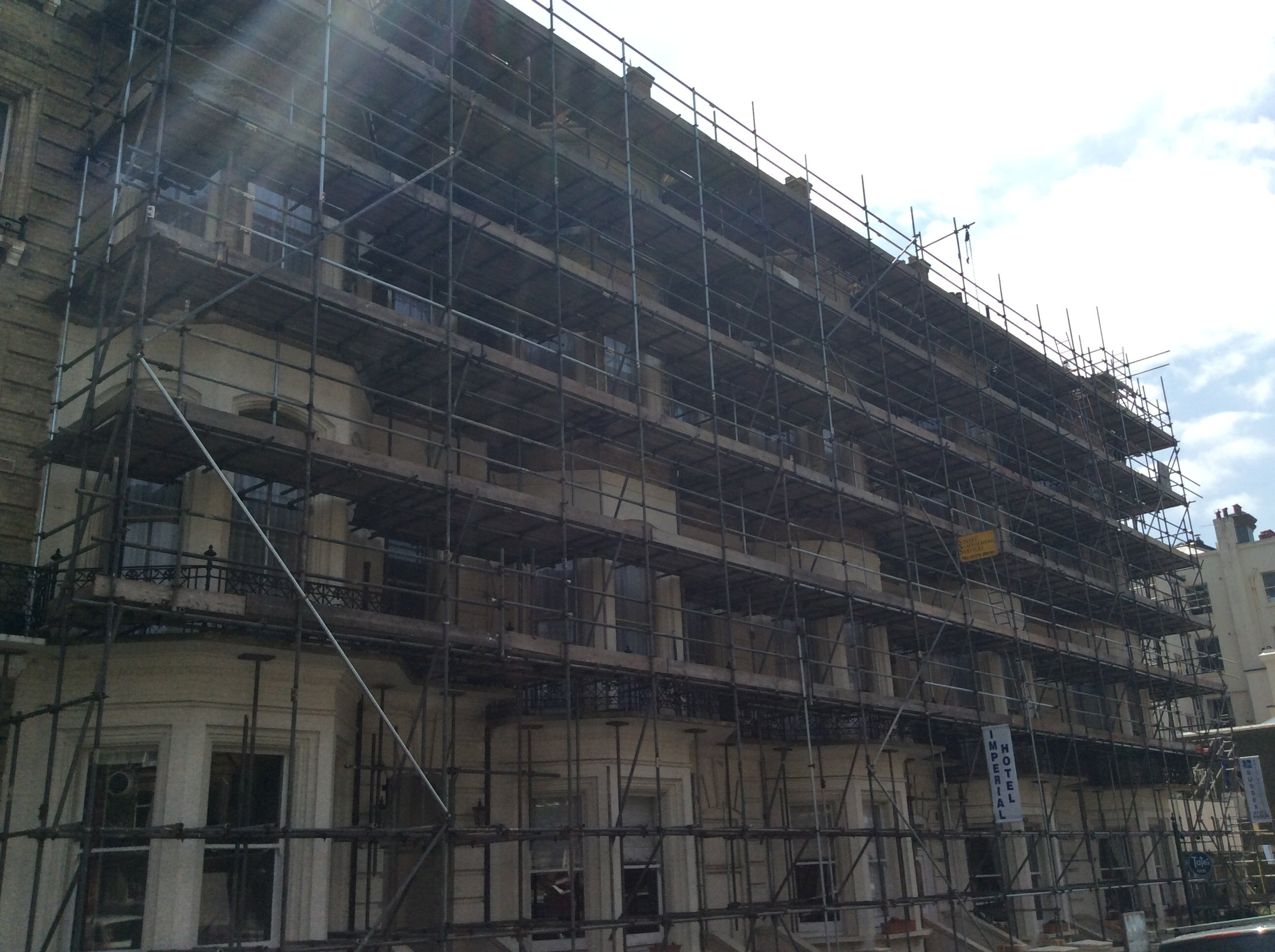 multi-storey scaffolding