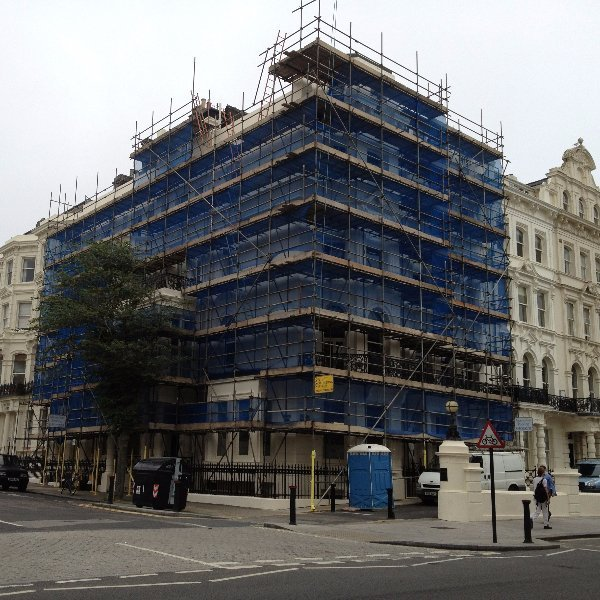 Scaffolding in Brighton