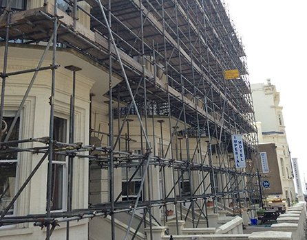 scaffolding services in Brighton