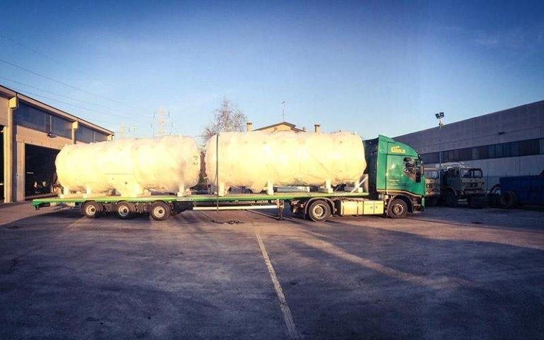 Trasporto cisterne del gas