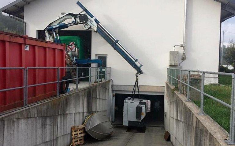 Movimentazione attrezzature e macchinari industriali