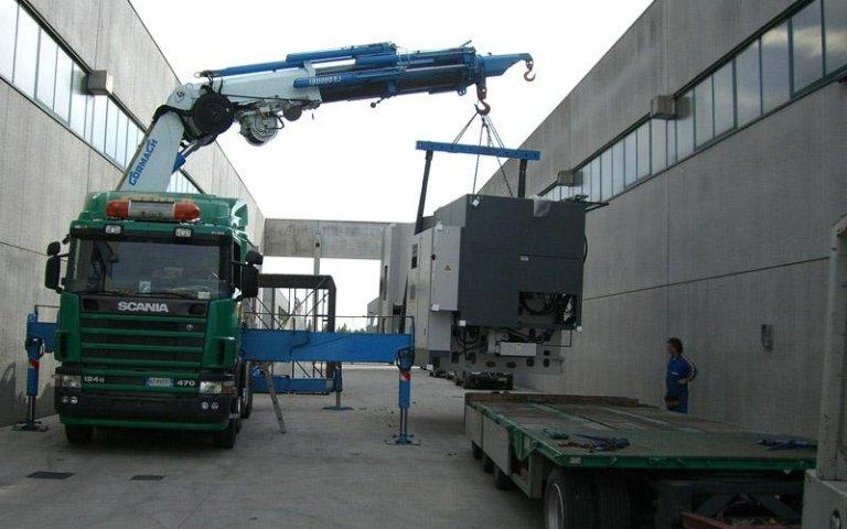 Trasporto attrezzature industriali