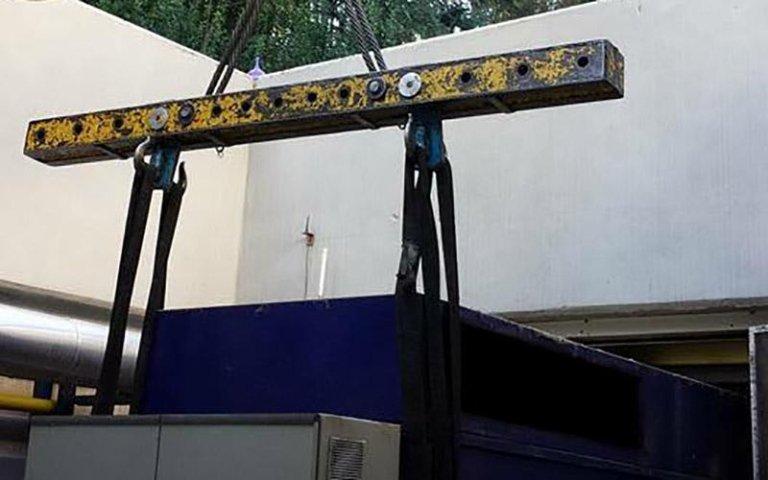 Movimentazione cabine prefabbricate