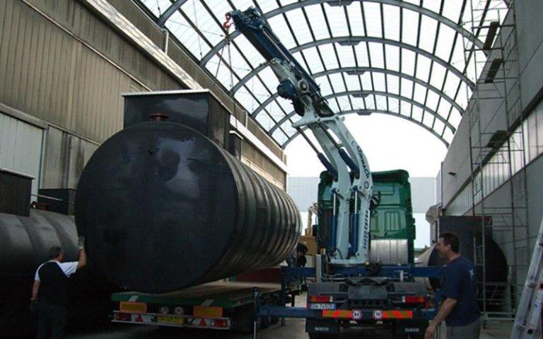 Posizionamento silos