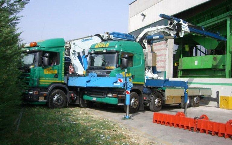 Movimentazione e posizionamento macchinari