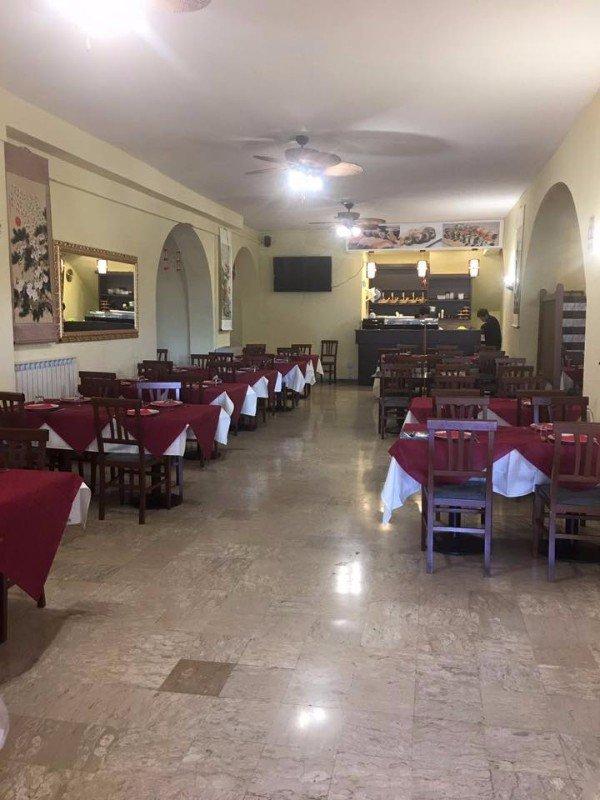 Banco del ristorante al fondo