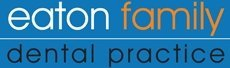 eaton family dental practice logo