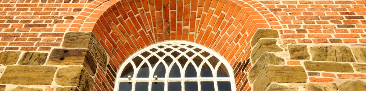 comco restoration brick wall window