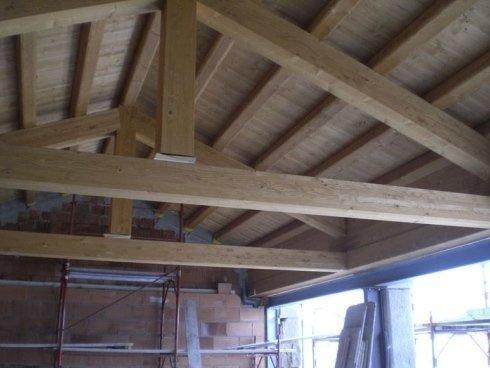 travature soffitto, travature legno soffitto, realizzazione soffitti