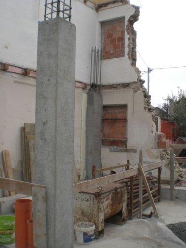 demolizione pareti, rifacimento pareti, demolizione muri esterni