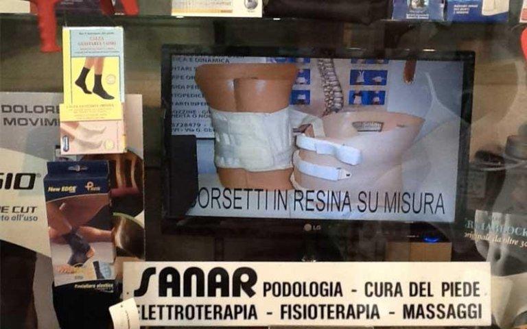 Realizzazione corsetto resina