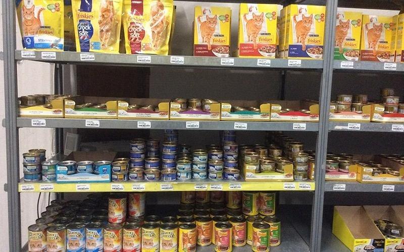 Alimenti per gatti Bastiglia