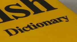 inglese, traduttore, vocabolario