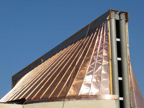 copertura industriale in metallo