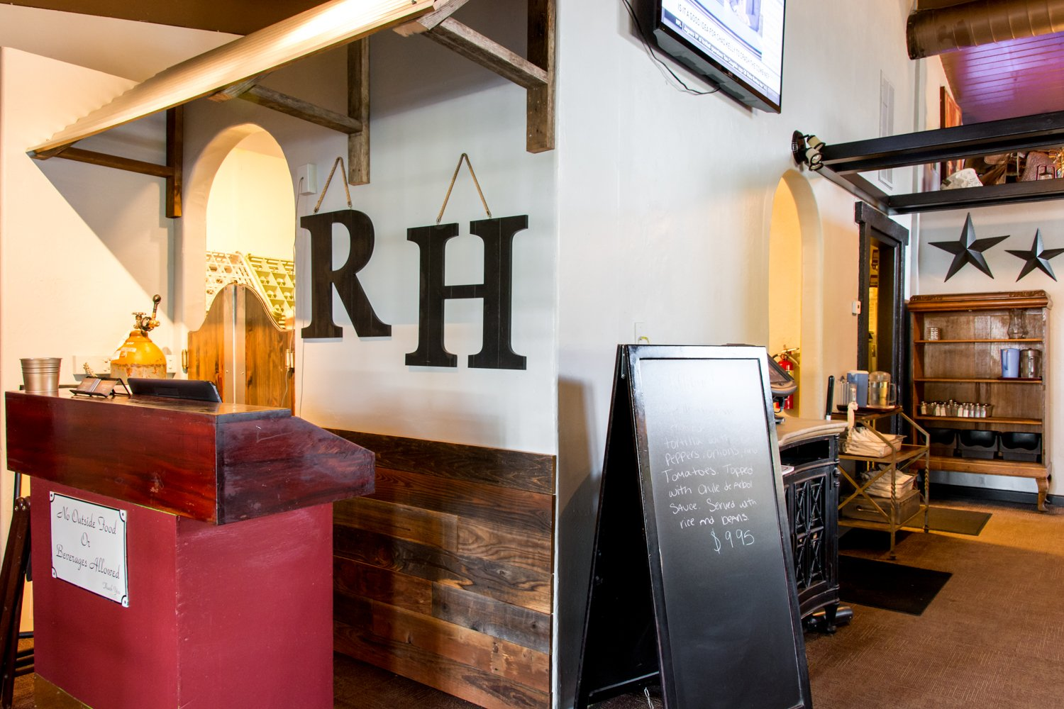 Red Hen Bar and Grill interior