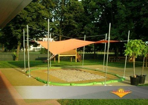 Tenda A Vela Quadrata : Tende a vela per giardini firenze toscoplast