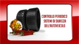 controllo impianto frenante, verifica pneumatici, controllo assetto