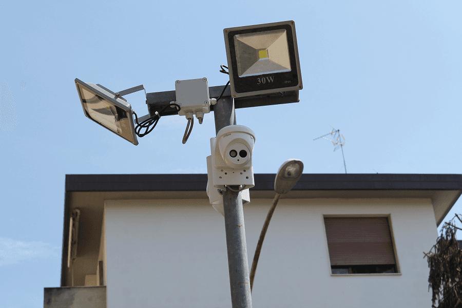 telecamera videosorveglianza da estern