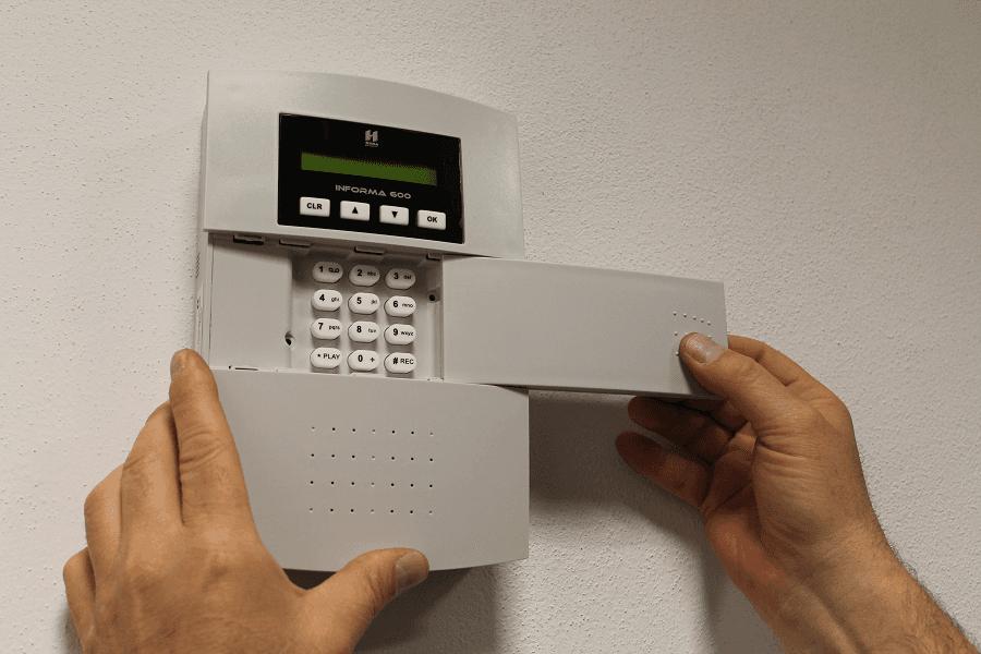 tastiera gestione allarme