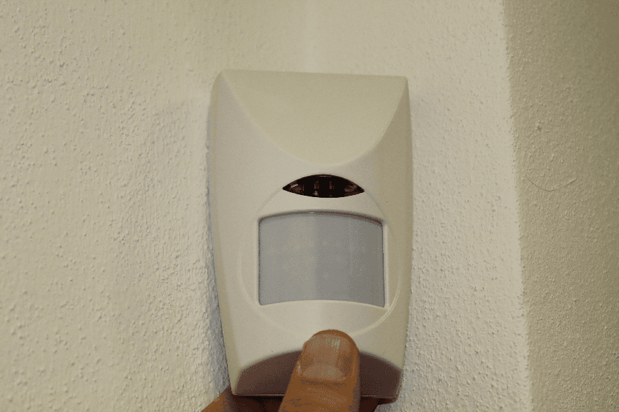 sensori volumetrici allarme